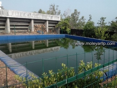 lining for concrete pond in India